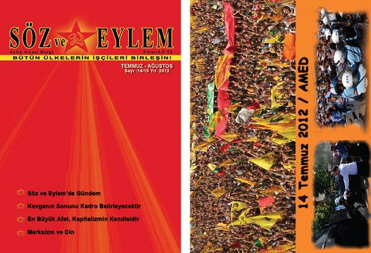 Söz ve Eylem 14.-15. Sayı (Temmuz-Ağustos 2012)