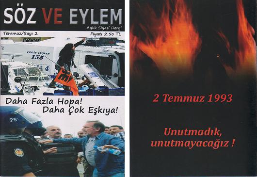 Söz ve Eylem 2. Sayı (Temmuz 2011)