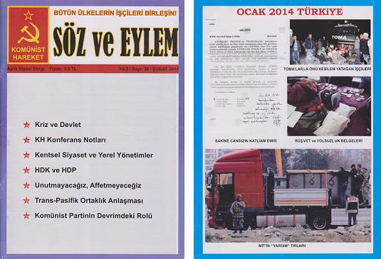 Söz ve Eylem 30. Sayı (Şubat 2014)