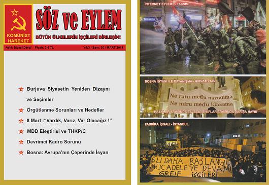 Söz ve Eylem 31. Sayı (Mart 2014)