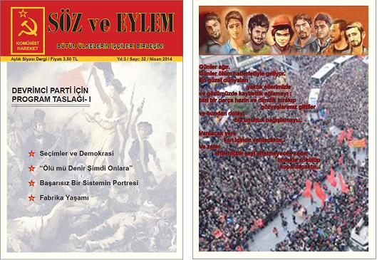 Söz ve Eylem 32. Sayı (Nisan 2014)
