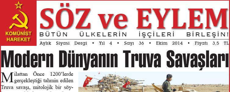 Söz ve Eylem 36. Sayı (Ekim 2014)