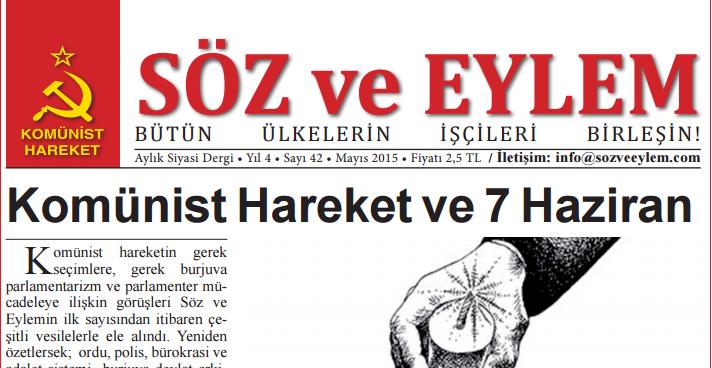 Söz ve Eylem 42. Sayı (Mayıs 2015)