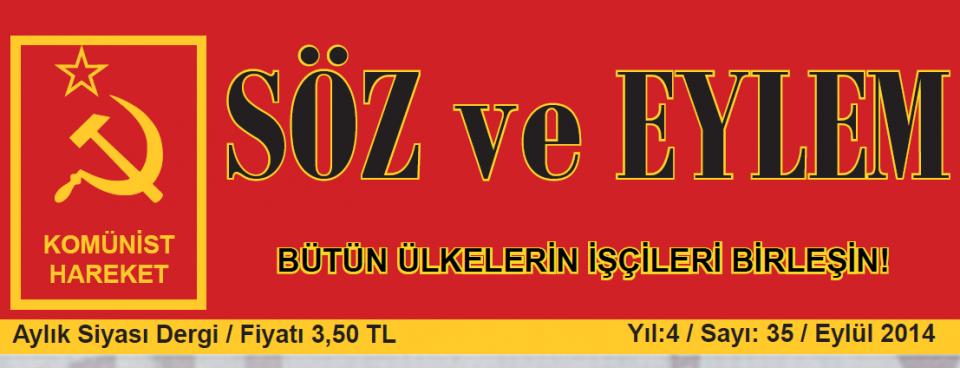 Söz ve Eylem 35. Sayı (Eylül 2014)